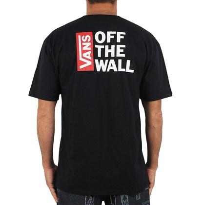 Camiseta Vans Off The Wall Black