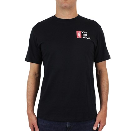 Camiseta Vans Off The Wall III Black
