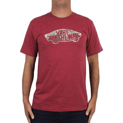 Camiseta Vans Off The Wall Rhubarb Heather