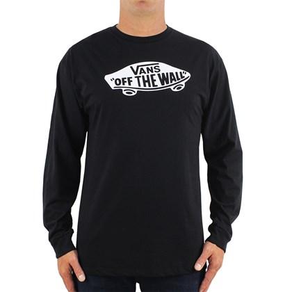 Camiseta Vans OTW Manga Longa Preta