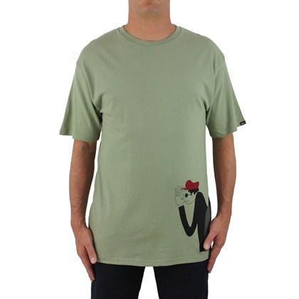 Camiseta Vans Premium Yusuke Surfers Oil Green