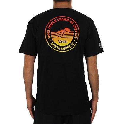 Camiseta Vans VTCS Lock Up Preta