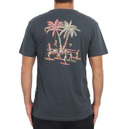 Camiseta Vissla Aloha Adios Dark Grey