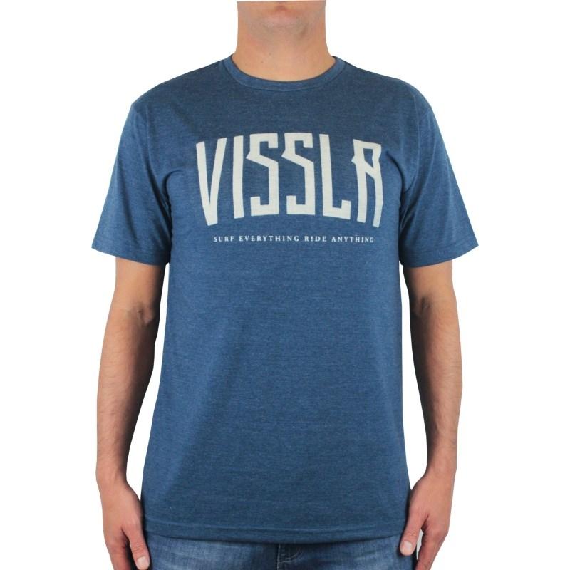 Camiseta Vissla Bend Naval Heather