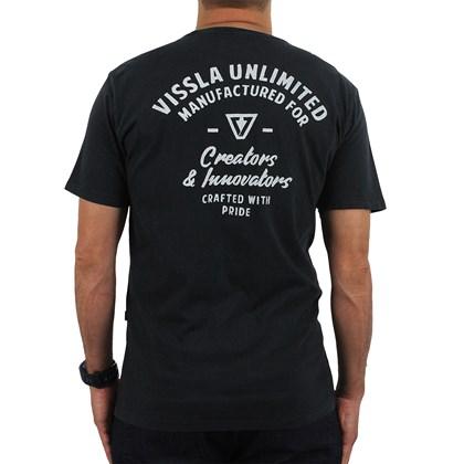 Camiseta Vissla Crafters Pigment Phantom