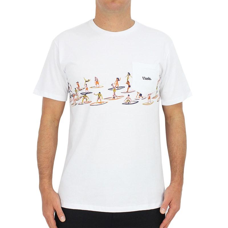 Camiseta Vissla Especial Aloha & Adios Branca