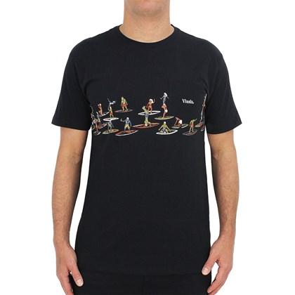 Camiseta Vissla Especial Aloha & Adios Preta