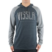 Camiseta Vissla Especial Bend Black Heather Grey