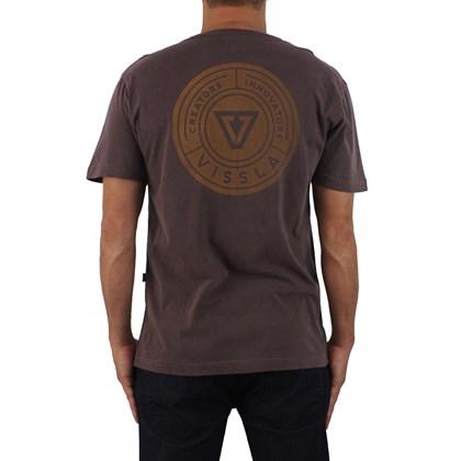 Camiseta Vissla Especial Lockdown Burgundy