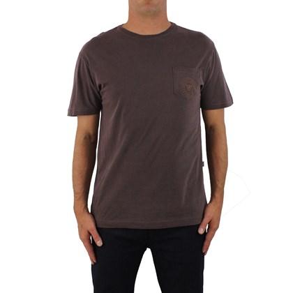 56e57a1034 Camiseta Vissla Especial Lockdown Burgundy ...