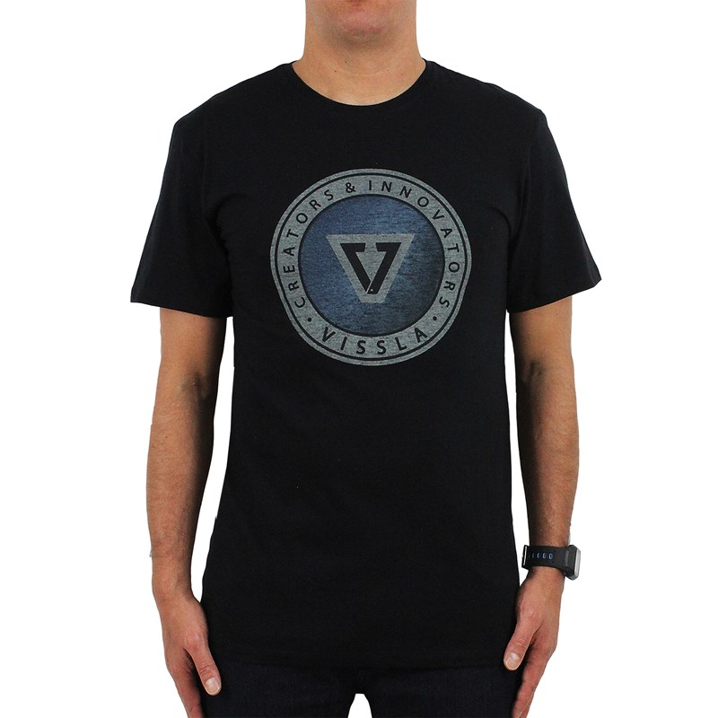 Camiseta Vissla Founded Black