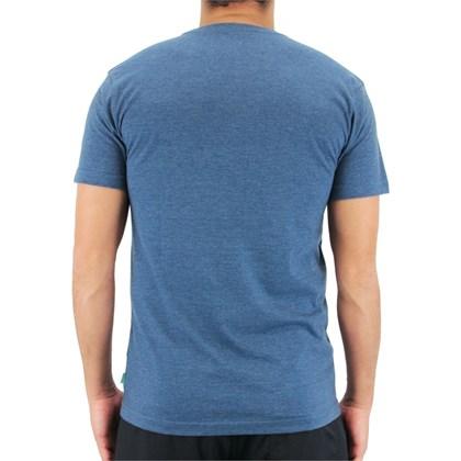 Camiseta Vissla Halfway Mescla Azul