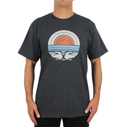 Camiseta Vissla Hand Made Sun Black Heather