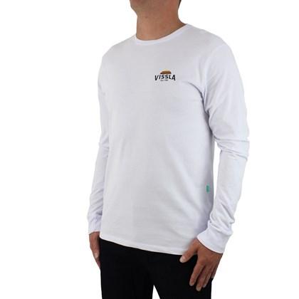 Camiseta Vissla Silk Manga Longa Alba Branca