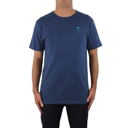 Camiseta Vissla Silk Original 7 Dark Denim
