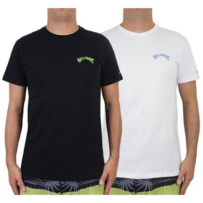 Camisetas Billabong Arch 2 Kit com 2 Peças