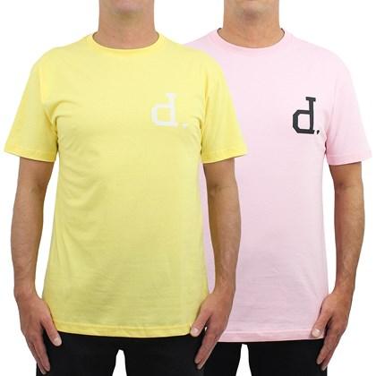 Camisetas Diamond Polo Tee Kit com 2 Peças Yellow Pink