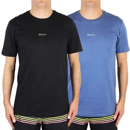 Camisetas RVCA Small Kit com 2 Peças