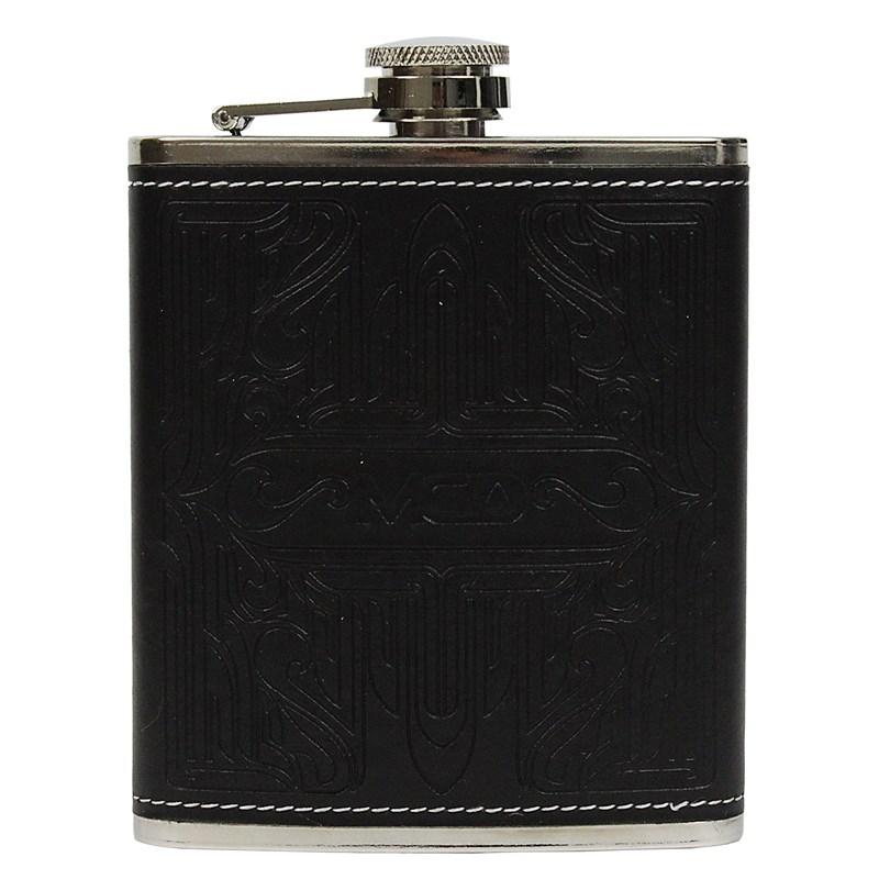 Cantil de Bolso MCD Flask Pinstripe Preto