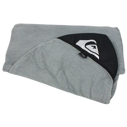 Capa para Prancha de Surf 5'8 Fish Toalha Quiksilver Charcoal