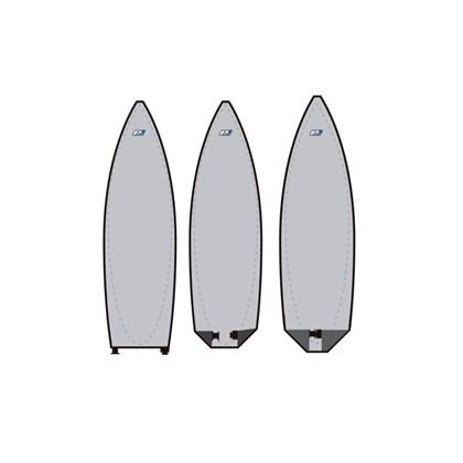 "CAPA PARA PRANCHA DE SURF 6.3"" PRO LITE REFLETIVA SIMPLE"