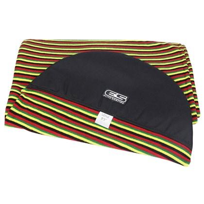 Capa para Prancha de Surf 9'2 a 9'5 Longboard Toalha Elite Surfing Rasta