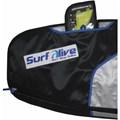 CAPA PARA PRANCHA DE SURF SURF ALIVE BY ELITE SURFING REFLETIVA FISH 6.2
