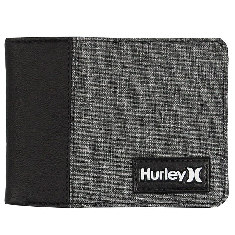 Carteira Hurley Plate Black