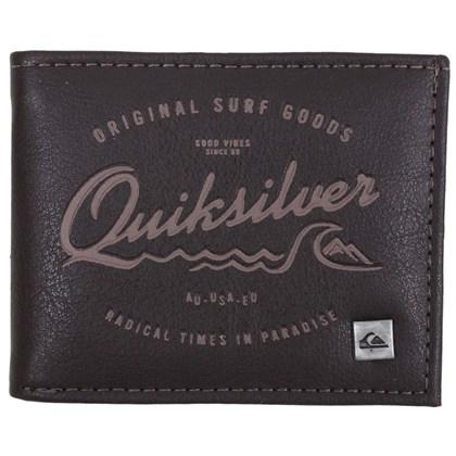 Carteira Quiksilver Radical Times Chocolate