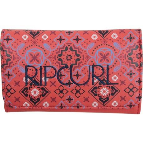 Carteira Rip Curl Feminina Moroccan Night Vermelha