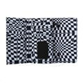 Carteira Vans Chained Reaction Wallet Black Checkerboard