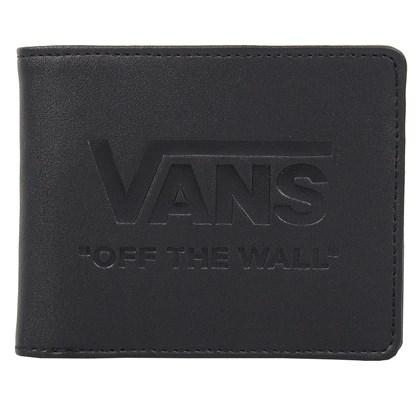 Carteira Vans Logo Wallet Dark Black