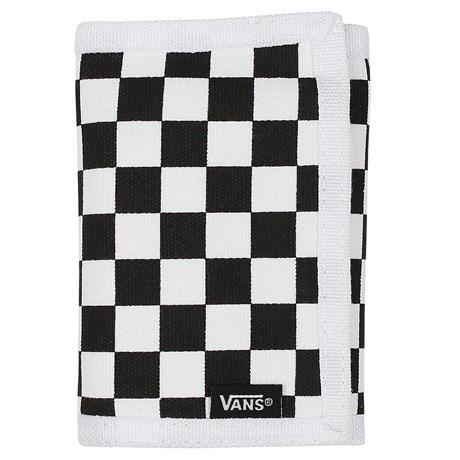 Carteira Vans M Slipped Black White