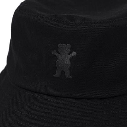 Chapéu Bucket Grizzly OG Bear Velvet Black