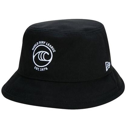 Chapéu Bucket New Era Oficial WSL Surfe Preto