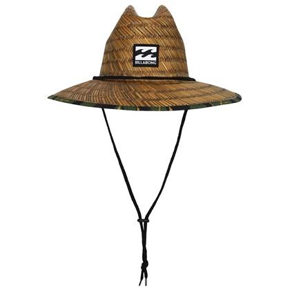 Chapéu de Palha Billabong Tides Brown Print Camo