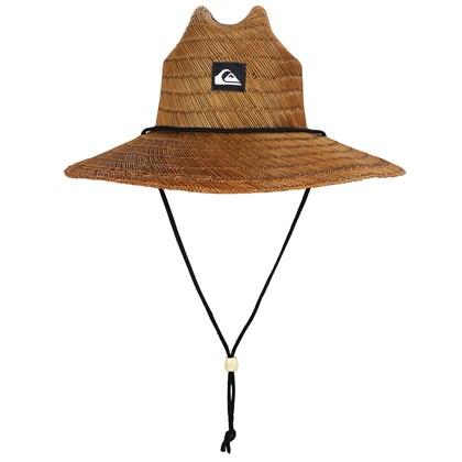 Chapéu de Palha Quiksilver Pierside Dark Brown Importado
