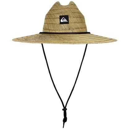 Chapéu de Palha Quiksilver Pierside Natural Importado