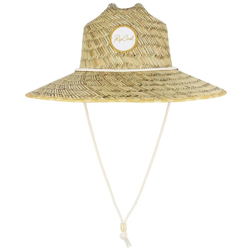 Chapéu de Palha Rip Curl Coastal Tides Feminino Natural