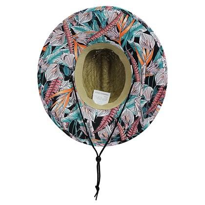 Chapéu de Palha Rip Curl Feminino Surf Break Natural