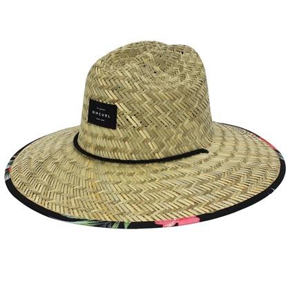 Chapéu de Palha Rip Curl Maui Black