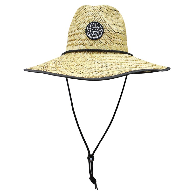 Chapéu de Palha Rip Curl Wetty Black