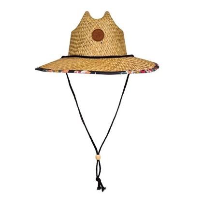 Chapéu de Palha Roxy Pina to My Colada Printed
