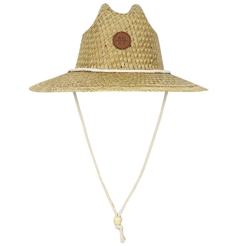 Chapéu de Palha Roxy Sunshine On My Mind Ivory Cream