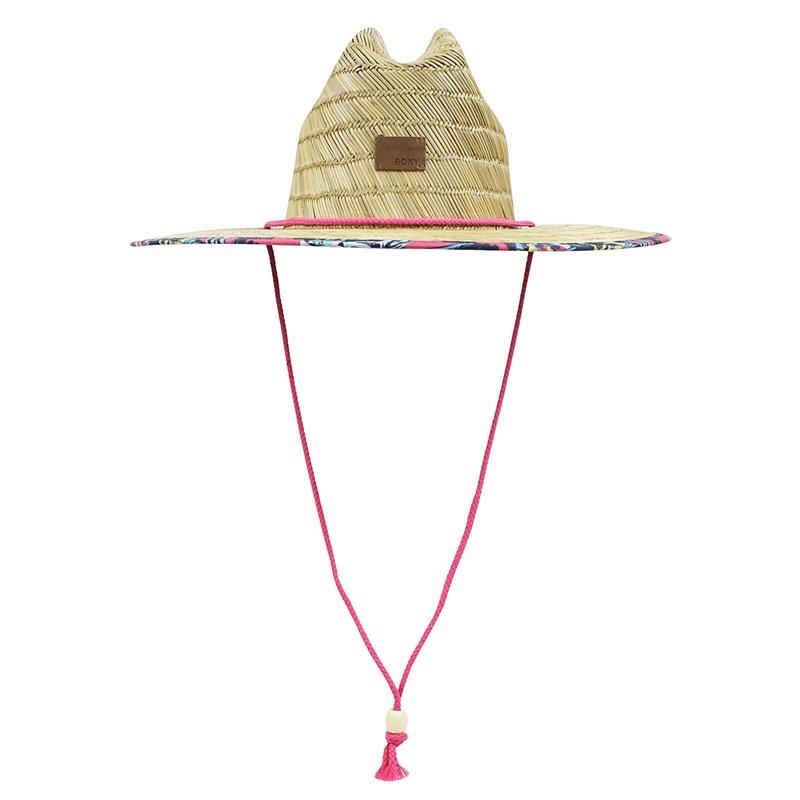 Chapéu de Palha Roxy Tomboy Printed Rouge Red Mahna