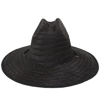 Chapéu de Palha Rusty Lifeguard Black Chapéu de Palha Rusty Lifeguard Black 4ec6a3eb0bd