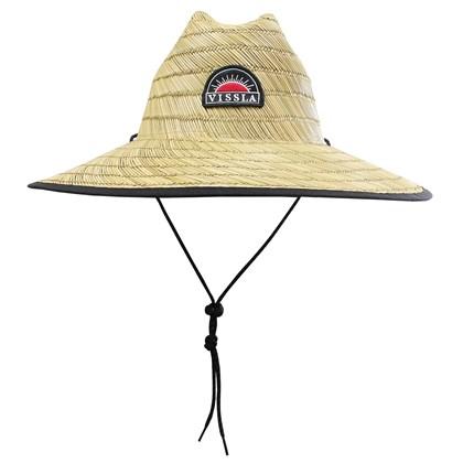 Chapéu de Palha Vissla Vessel Lifeguard Natural Importado ... 6e6eca3f606