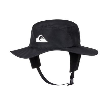 Chapéu para Surf Quiksilver Bushmaster Black