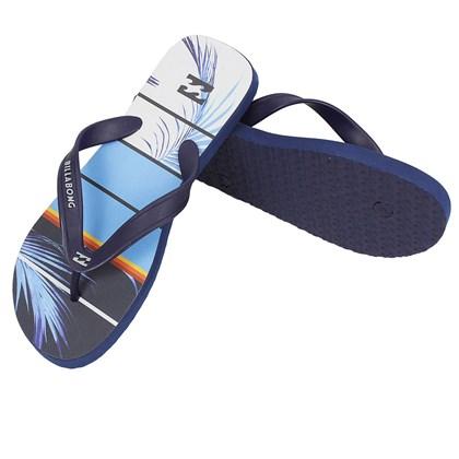 Chinelo Billabong Spinner Azul Marinho