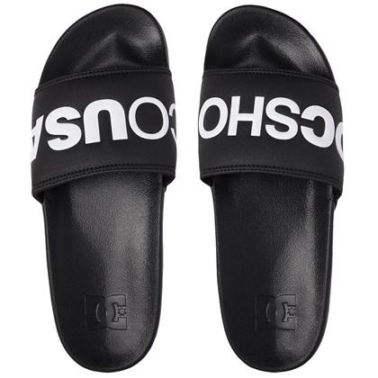 Chinelo DC Shoes Slider Bolsa Black